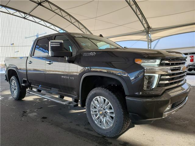 2021 Chevrolet Silverado 2500HD High Country (Stk: 187520) in AIRDRIE - Image 1 of 37