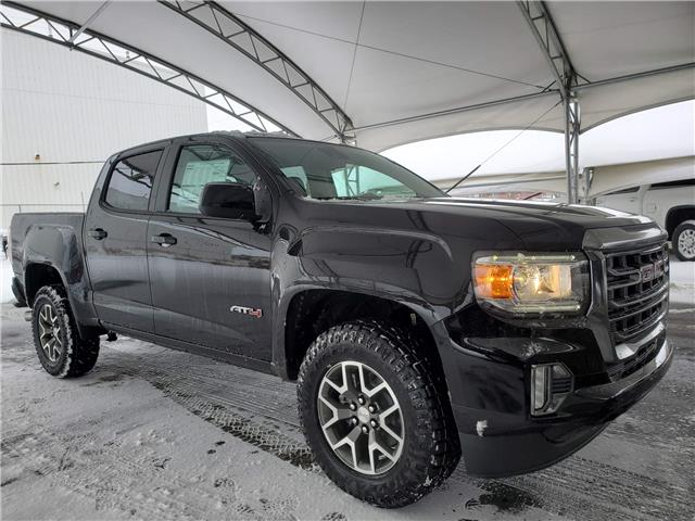 2021 GMC Canyon AT4 w/Leather (Stk: 187321) in AIRDRIE - Image 1 of 30