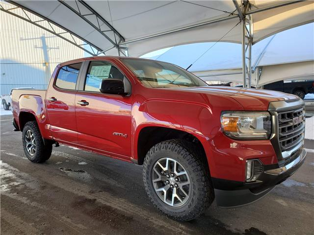 2021 GMC Canyon AT4 w/Cloth (Stk: 187513) in AIRDRIE - Image 1 of 31