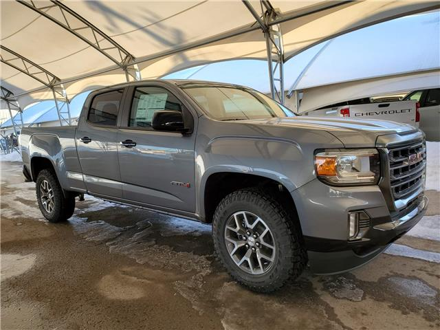 2021 GMC Canyon AT4 w/Cloth (Stk: 187673) in AIRDRIE - Image 1 of 27