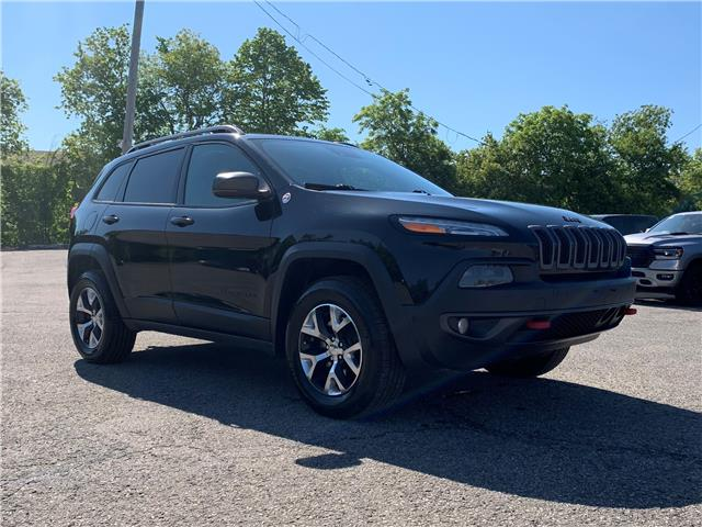 2014 Jeep Cherokee Trailhawk (Stk: D200032A) in Ottawa - Image 1 of 30
