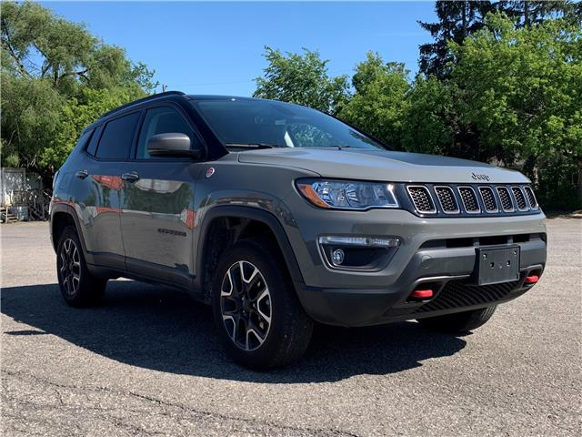 2019 Jeep Compass Trailhawk (Stk: D8641A) in Ottawa - Image 1 of 29