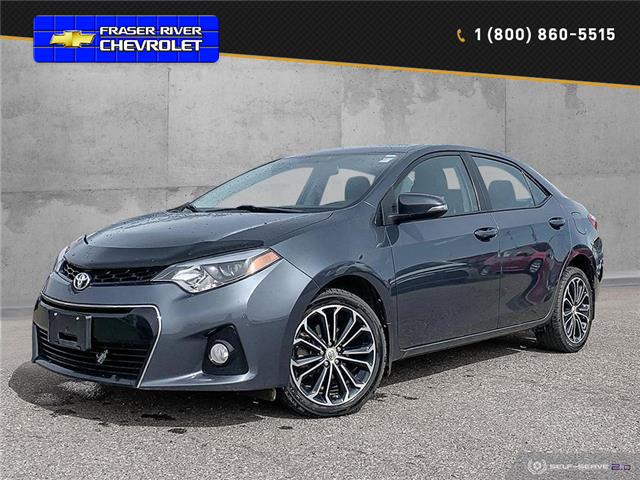 2016 Toyota Corolla S 2T1BURHE9GC605247 20113AL in Dawson Creek