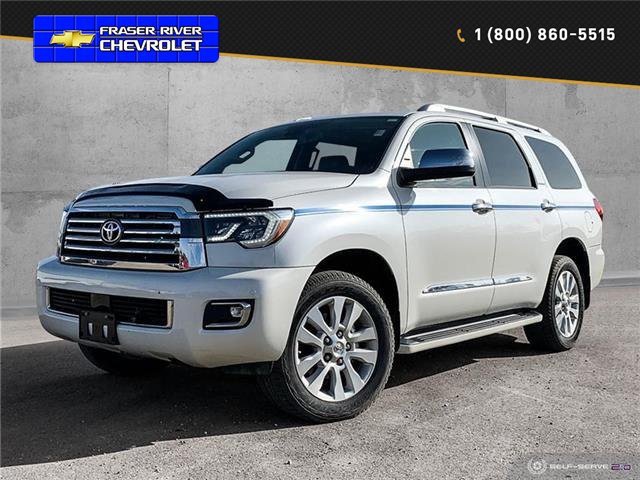 2018 Toyota Sequoia Platinum 5.7L V8 (Stk: 20142A) in Dawson Creek - Image 1 of 25