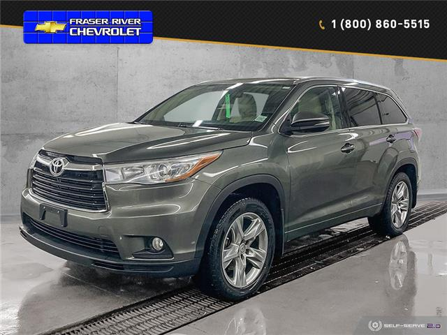 2015 Toyota Highlander Limited (Stk: 9766) in Williams Lake - Image 1 of 24