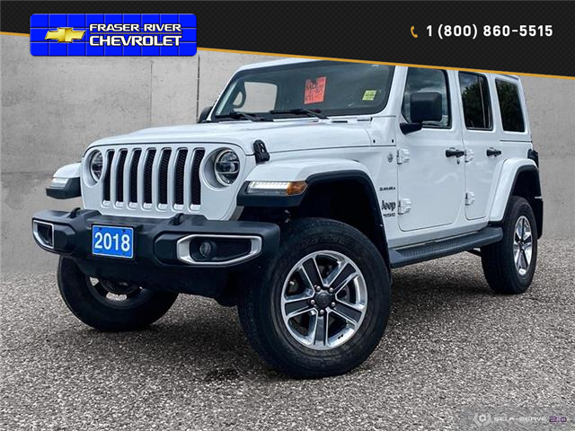 2018 Jeep Wrangler Unlimited Sahara (Stk: 21166A) in Quesnel - Image 1 of 25