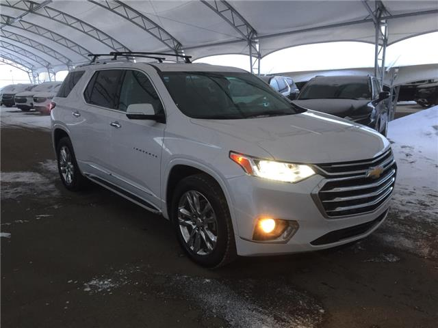 2018 Chevrolet Traverse High Country 1GNEVKKW4JJ186245 161282 in AIRDRIE