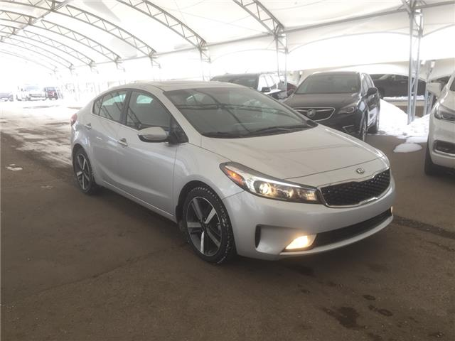 2017 Kia Forte EX+ 3KPFL4A86HE123012 181518 in AIRDRIE