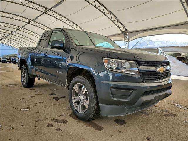 2018 Chevrolet Colorado WT 1GCHTBEN4J1229867 162523 in AIRDRIE