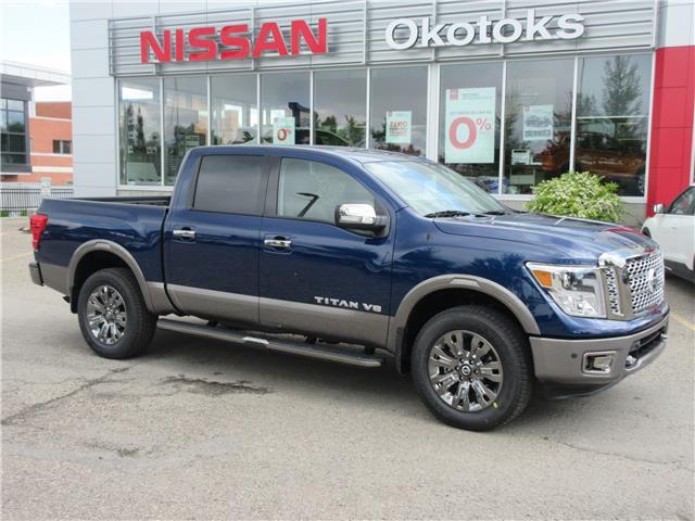 2019 Nissan Titan Platinum (Stk: 9193) in Okotoks - Image 1 of 20