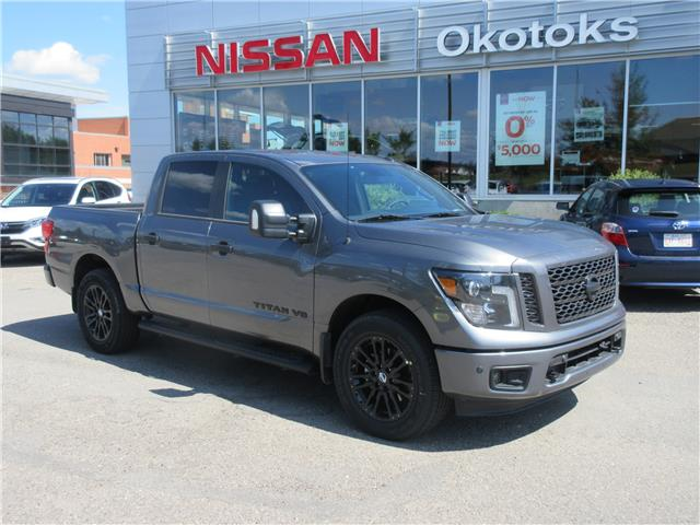 2019 Nissan Titan SV Midnight Edition (Stk: 8981) in Okotoks - Image 1 of 23