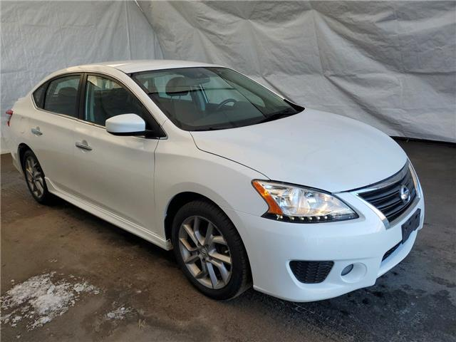 2014 Nissan Sentra 1.8 SR (Stk: 13232) in Thunder Bay - Image 1 of 10