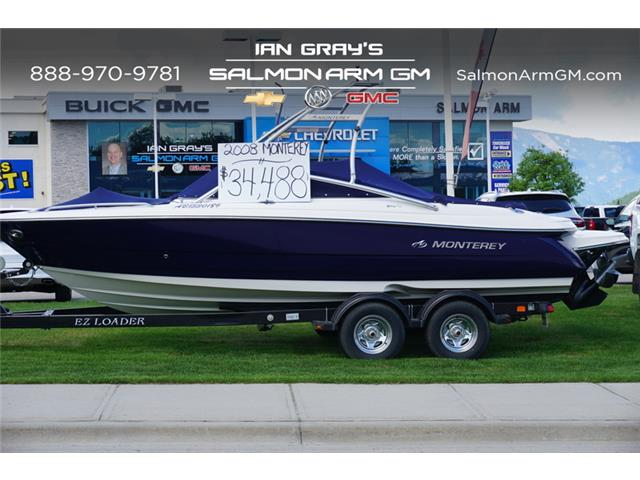 2008 Monterey BOAT  (Stk: P3465A) in Salmon Arm - Image 1 of 4