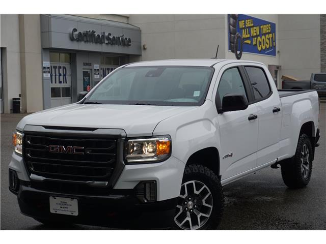 2021 GMC Canyon AT4 w/Leather (Stk: 21-055) in Salmon Arm - Image 1 of 26