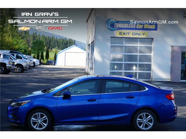 2017 Chevrolet Cruze LT Auto (Stk: 21-183A) in Salmon Arm - Image 1 of 12