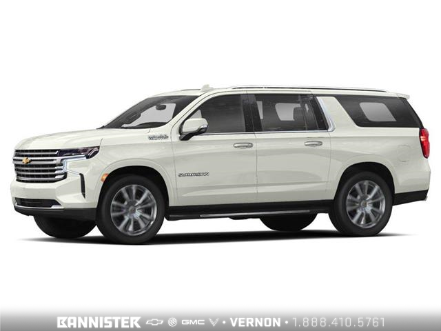 2021 Chevrolet Suburban High Country (Stk: XTVKZC) in Vernon - Image 1 of 2