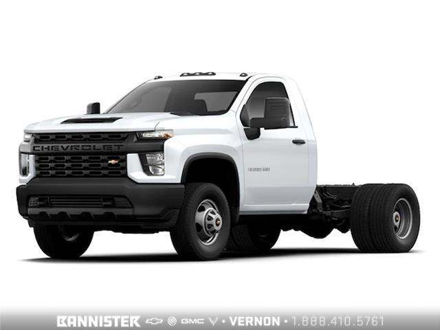 New 2021 Chevrolet Silverado 3500HD Chassis Work Truck  - Vernon - Bannister Chevrolet Buick GMC Vernon Inc.