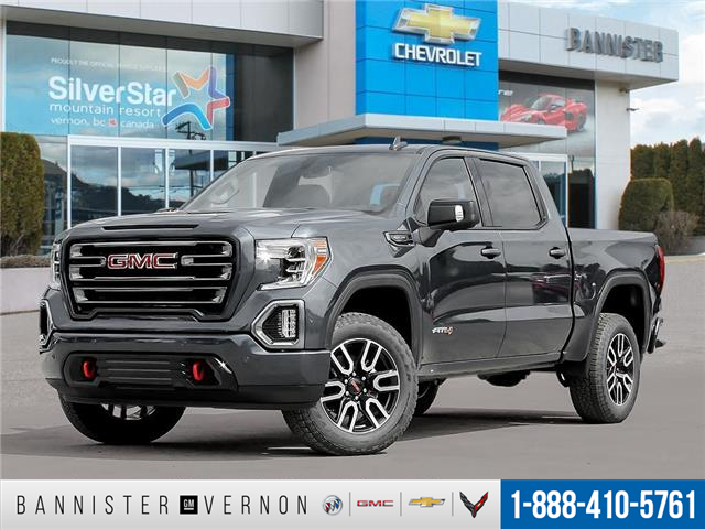 2021 GMC Sierra 1500 AT4 (Stk: ZHBDCT) in Vernon - Image 1 of 23