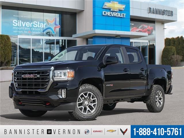 2021 GMC Canyon AT4 w/Leather (Stk: 21717) in Vernon - Image 1 of 23
