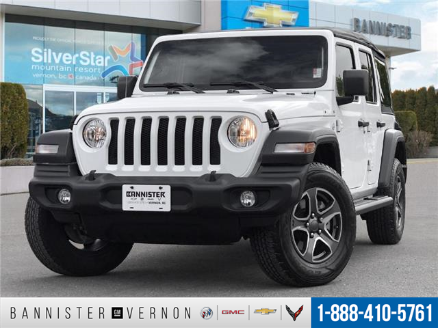 2018 Jeep Wrangler Unlimited Sport (Stk: P21823) in Vernon - Image 1 of 25