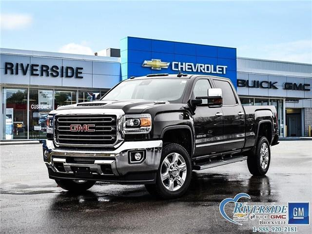 2019 GMC Sierra 2500HD SLT (Stk: 19-063) in Brockville - Image 1 of 26