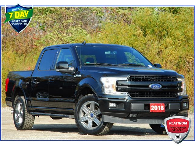 2018 Ford F-150 Lariat (Stk: 9F8960A) in Kitchener - Image 1 of 17