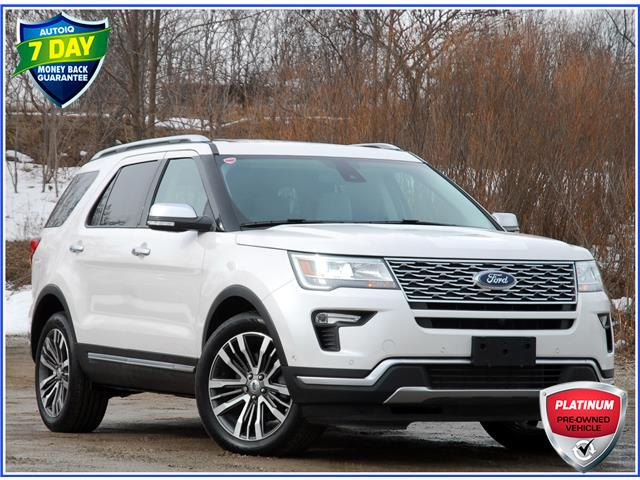 2019 Ford Explorer Platinum (Stk: 151530) in Kitchener - Image 1 of 20