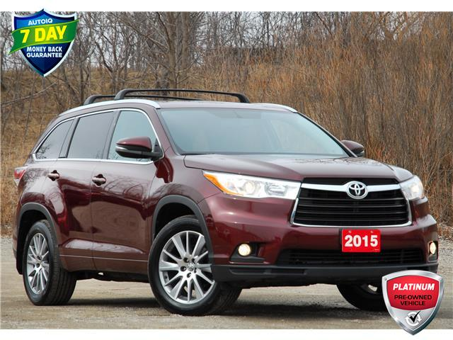 2015 Toyota Highlander XLE (Stk: D97370A) in Kitchener - Image 1 of 18
