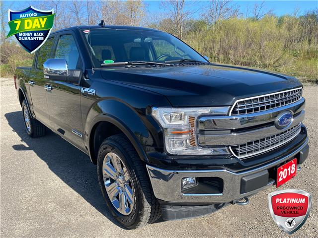 2018 Ford F-150 Lariat (Stk: D97640A) in Kitchener - Image 1 of 14