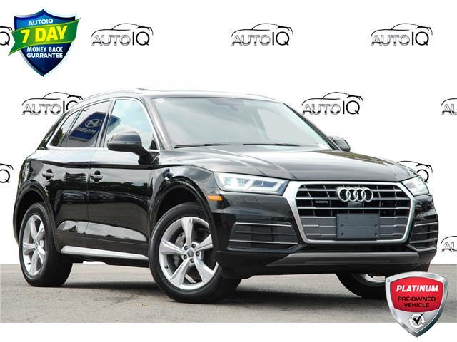 2018 Audi Q5 2.0T Progressiv (Stk: 152990) in Kitchener - Image 1 of 21