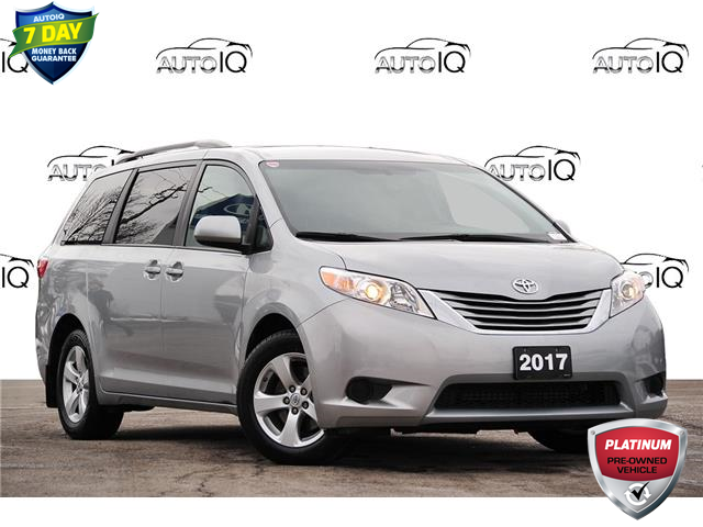 2017 Toyota Sienna LE 8 Passenger Silver