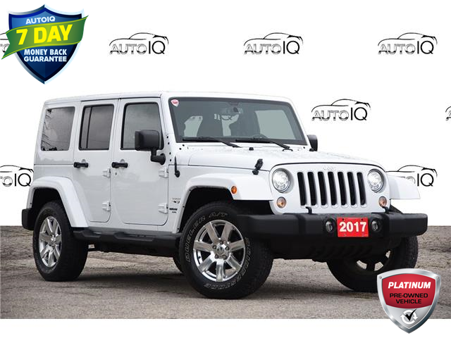 2017 Jeep Wrangler Unlimited Sahara (Stk: 21F2670A) in Kitchener - Image 1 of 18