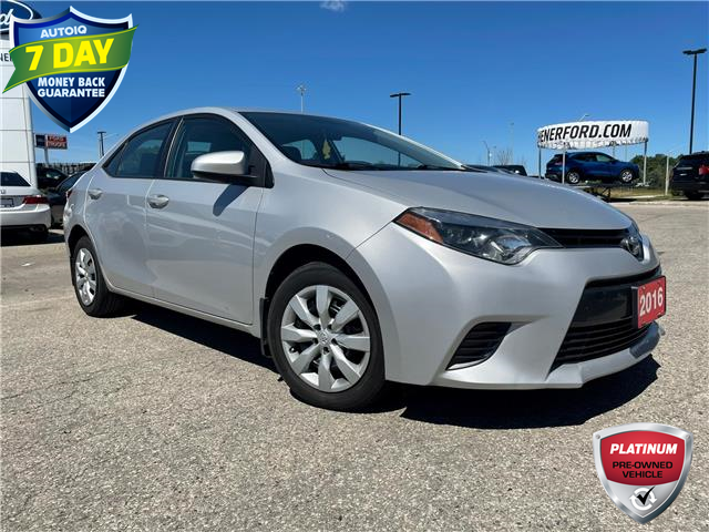 2016 Toyota Corolla LE (Stk: 21D2710A) in Kitchener - Image 1 of 5
