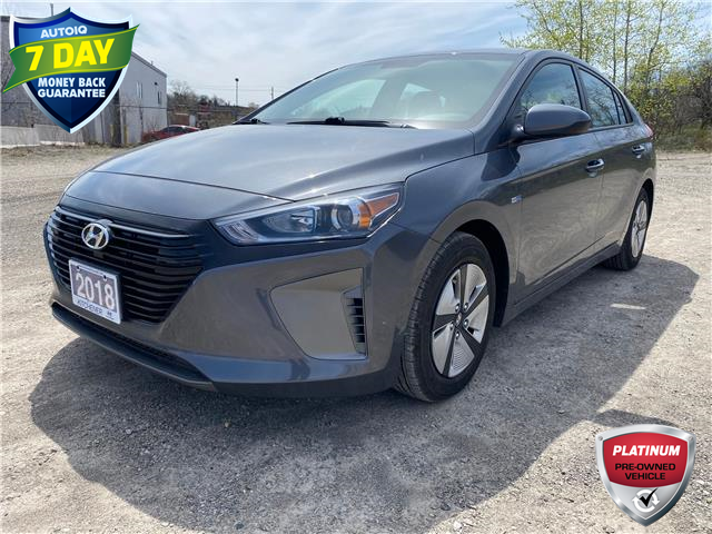 2018 Hyundai Ioniq Hybrid Blue (Stk: OP3868S) in Kitchener - Image 1 of 13