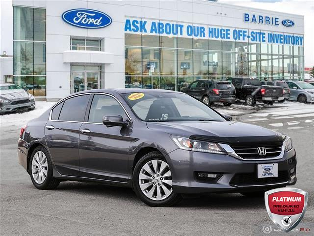 2015 Honda Accord EX-L (Stk: T1507A) in Barrie - Image 1 of 27