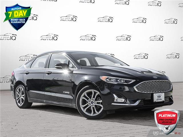 2019 Ford Fusion Hybrid Titanium (Stk: 6518R) in Barrie - Image 1 of 27