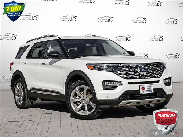 2020 Ford Explorer Platinum (Stk: U1057A) in Barrie - Image 1 of 27