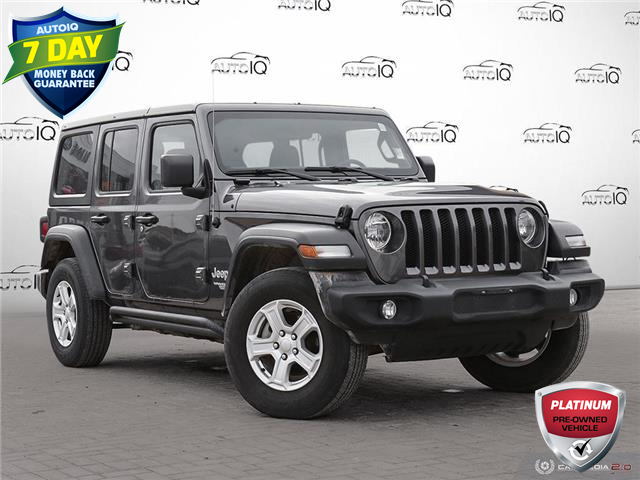 2019 Jeep Wrangler Unlimited Sport (Stk: W0111A) in Barrie - Image 1 of 25