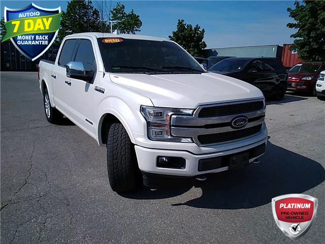 2018 Ford F-150 Platinum (Stk: W0328A) in Barrie - Image 1 of 24