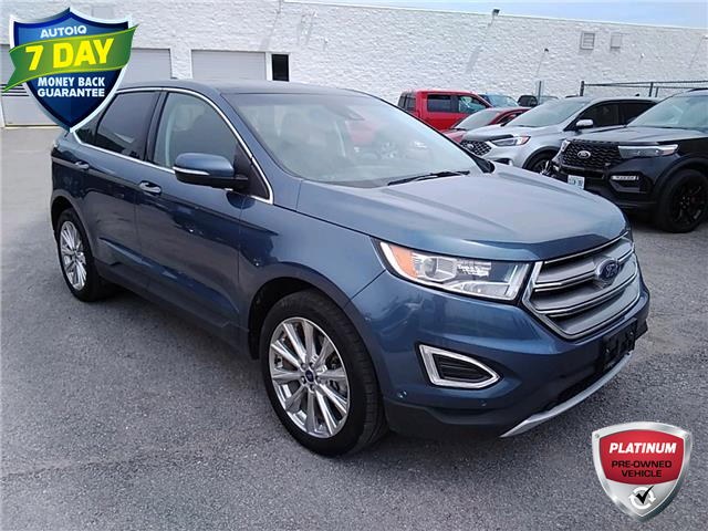 2018 Ford Edge Titanium (Stk: W0298B) in Barrie - Image 1 of 29