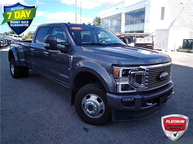 2021 Ford F-350 Limited (Stk: 7076) in Barrie - Image 1 of 29