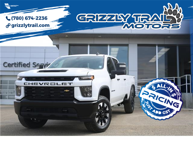 2020 Chevrolet Silverado 2500HD Custom (Stk: 60169) in Barrhead - Image 1 of 27