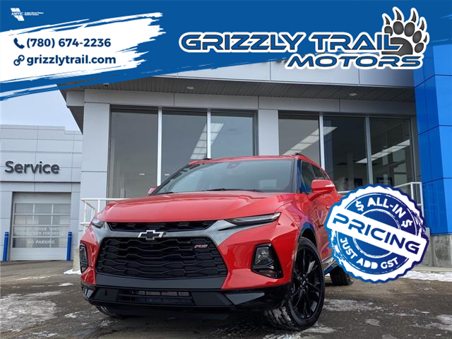 2021 Chevrolet Blazer RS (Stk: 61732) in Barrhead - Image 1 of 33