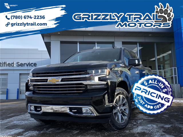 2021 Chevrolet Silverado 1500 High Country (Stk: 61929) in Barrhead - Image 1 of 27