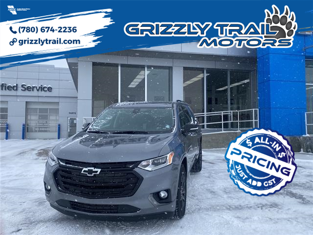 2021 Chevrolet Traverse Premier (Stk: 61780) in Barrhead - Image 1 of 31