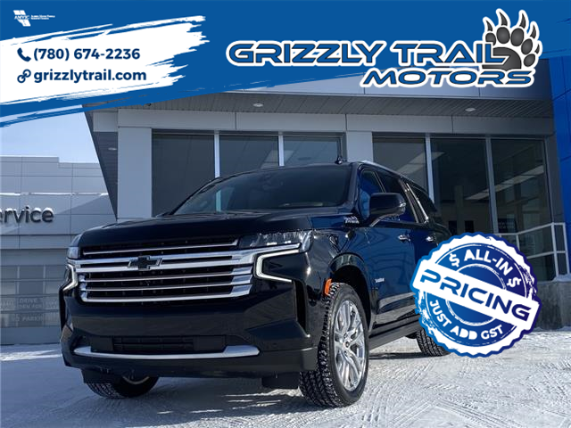 2021 Chevrolet Tahoe High Country (Stk: 62360) in Barrhead - Image 1 of 37
