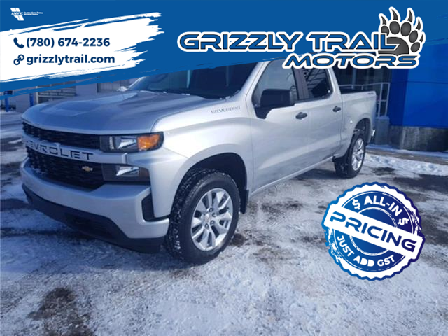 2021 Chevrolet Silverado 1500 Silverado Custom (Stk: 62329) in Barrhead - Image 1 of 13