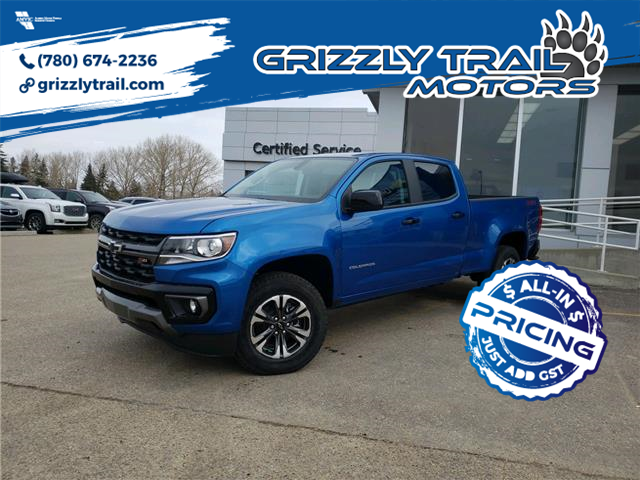 2021 Chevrolet Colorado Z71 (Stk: 62564) in Barrhead - Image 1 of 16