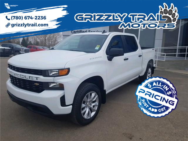 2021 Chevrolet Silverado 1500 Custom (Stk: 62763) in Barrhead - Image 1 of 14