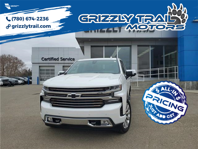 2021 Chevrolet Silverado 1500 High Country (Stk: 62922) in Barrhead - Image 1 of 20